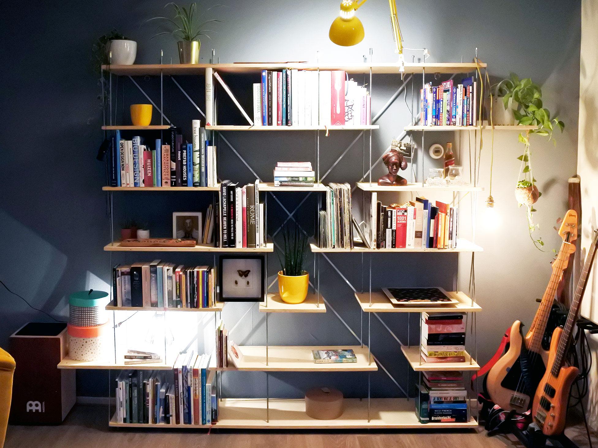 Boekenkast Voor Uitnodigend : No.arch u2013 architectuur ontwerp mikado stoel
